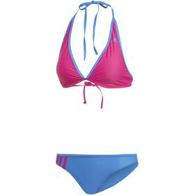 adidas BW 3-Stripes NH Bañadores Mujer, azul/rosa